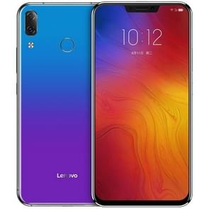 Lenovo Z5, 6GB+128GB, Support Google Play, Dual AI Back Cameras, Fingerprint Identification, 6.2 inch ZUI 3.9 (Android 8.1) Qualcomm Snapdragon SDM636 Octa Core up to 1.8GHz, Network: 4G (Twilight Blue)