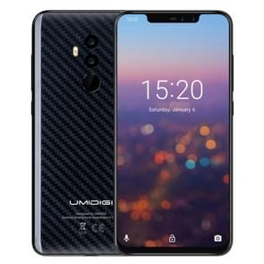 UMIDIGI Z2 Pro, Dual 4G, 6GB+128GB, Dual Back Cameras + Dual Front Cameras, Face ID & Fingerprint Identification, 6.2 inch Android 8.1 MTK6771 AI-driven Helio P60 Octa Core up to 2.0GHz, Network: 4G, NFC, Wireless Charge, Dual SIM(Carbon Fiber Black)