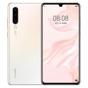 Huawei P30 ELE-AL00, 8GB+64GB, China Version, Triple Back Cameras, Face ID & Screen Fingerprint Identification, 6.1 inch Dot-notch Screen EMUI 9.1 Android 9.0  HUAWEI Kirin 980 Octa Core up to 2.6GHz, Network: 4G, NFC(White)
