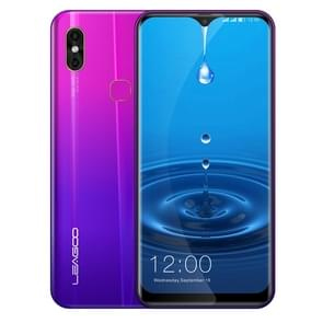 LEAGOO M13, 4GB+32GB, Dual Back Cameras, Face ID & Fingerprint Identification, 6.1 inch Water-drop Screen Android 9.0 MTK6761 Quad Core up to 2.0GHz, Network: 4G, Dual SIM, OTG(Twilight)