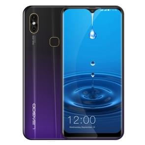 LEAGOO M13, 4GB+32GB, Dual Back Cameras, Face ID & Fingerprint Identification, 6.1 inch Water-drop Screen Android 9.0 MTK6761 Quad Core up to 2.0GHz, Network: 4G, Dual SIM, OTG(Phantom Purple)
