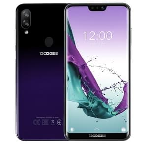 DOOGEE N10, 3GB+32GB, Dual Back Cameras, Face ID & Fingerprint Identification,  5.84 inch Notch Screen Android 8.1 Oreo SC9863A Octa Core up to 1.6GHz, Network: 4G, OTG, Dual SIM (Phantom Purple)