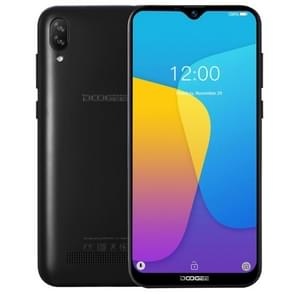 DOOGEE Y8C, 1GB+16GB, Dual Back Cameras, Face ID,  6.1 inch Water-drop Screen Android 8.1 Oreo MTK6580 Quad Core up to 1.3GHz, Network: 3G,  OTA, Dual SIM(Black)