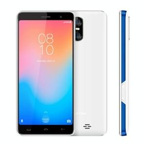 HOMTOM C13, 1GB+8GB, Dual Back Cameras, 5.0 inch Android GO MTK6580M Quad Core up to 1.3GHz, Network: 3G, OTA, Dual SIM(White Blue)