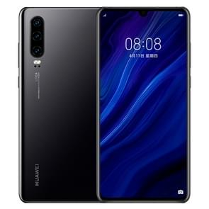 Huawei P30 ELE-AL00, 8GB+128GB, China Version, Triple Back Cameras, Face ID & Screen Fingerprint Identification, 6.1 inch Dot-notch Screen EMUI 9.1 Android 9.0  HUAWEI Kirin 980 Octa Core up to 2.6GHz, Network: 4G, NFC(Jet Black)