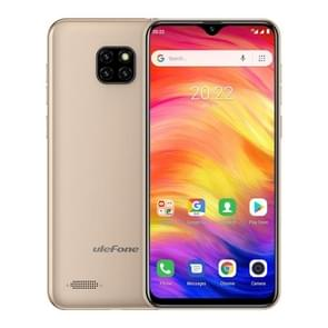 Ulefone Note 7, 1GB+16GB, Triple Back Cameras, Face ID Identification, 6.1 inch Android 8.1 GO MTK6580A Quad-core 32-bit up to 1.3GHz, Network: 3G, Dual SIM(Gold)