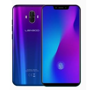 LEAGOO S10,  6GB+128GB, Dual Back Cameras, Face & In-Display Fingerprint Identification, 4050mAh Battery, 6.21 inch Android 8.1 MTK6771 Helio P60 Octa Core up to 2.0GHz, Network: 4G, OTG, Dual SIM(Gradient Blue)