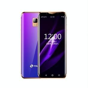 K-TOUCH I10  2GB + 32GB  Face ID identification  3 46 inch MTK6739V/CWA Quad Core 1.5 GHz  netwerk: 4G  Dual SIM  ondersteuning Google Play (Gradient Blue)