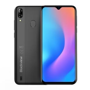 Blackview A60 Pro, 3GB+16GB, Dual Rear Cameras, Face ID & Fingerprint Identification, 4080mAh Battery, 6.088 inch Waterdrop Screen Android 9.0 Pie MTK6761V/WB Quad Core up to 2.0GHz, Network: 4G, Dual SIM(Black)