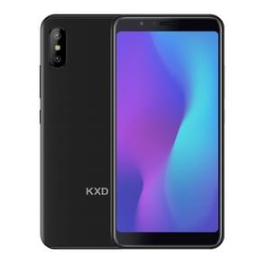 KXD 6A, 1GB+8GB, Dual Back Cameras, 5.5 inch Android 8.1 SC7731E Quad Core up to 1.3GHz, Network: 3G, Dual SIM(Black)