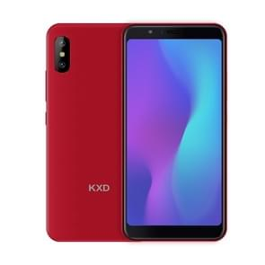 KXD 6A, 1GB+8GB, Dual Back Cameras, 5.5 inch Android 8.1 SC7731E Quad Core up to 1.3GHz, Network: 3G, Dual SIM(Red)