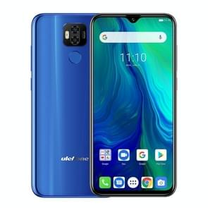 Ulefone Power 6, 4GB+64GB, Dual Back Cameras, Face ID & Fingerprint Identification, 6350mAh Battery, 6.3 inch Android 9.0 MTK6765V Helio P35 Octa-core 64-bit up to 2.3GHz, Network: 4G, Dual SIM, NFC, OTG (Blue)