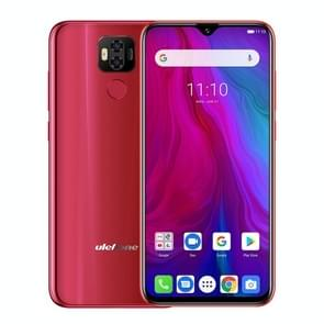 Ulefone Power 6, 4GB+64GB, Dual Back Cameras, Face ID & Fingerprint Identification, 6350mAh Battery, 6.3 inch Android 9.0 MTK6765V Helio P35 Octa-core 64-bit up to 2.3GHz, Network: 4G, Dual SIM, NFC, OTG (Red)