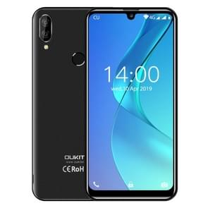 OUKITEL C16 Pro, 3GB+32GB, Dual Back Cameras, Face ID & Fingerprint Identification, 5.71 inch Water-drop Screen Android 9.0 Pie MTK6761P Quad Core up to 2.0GHz, Network: 4G, Dual SIM (Black)