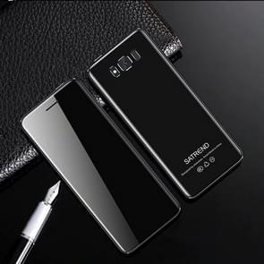 SATREND S10 kaart mobiele telefoon  2 4 inch touch screen  MTK6261D  ondersteuning Bluetooth  FM  GSM  Dual SIM (zwart)