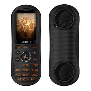 SERVO K8 Mobile Phone, Russian Keyboard, 5800mAh Battery, 2.8 inch, 25 Keys, Support Bluetooth, FM, Singing Song, Flashlight, MP3 / MP4, GSM, Triple SIM(Black)