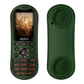 SERVO K8 Mobile Phone, Russian Keyboard, 5800mAh Battery, 2.8 inch, 25 Keys, Support Bluetooth, FM, Singing Song, Flashlight, MP3 / MP4, GSM, Triple SIM(Green)