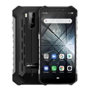 Ulefone Armor X3 Rugged Phone, 2GB+32GB, IP68 Waterproof Dustproof Shockproof, 5.5 inch Android 9.0 MT6580 Quad Core 32-bit up to 1.3GHz, 5000mAh Battery, Dual Back Cameras & Face Unlock, Network: 3G(Silver)