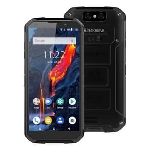 Blackview BV9500 Plus, 4GB+64GB, IP68/IP69K Waterproof Dustproof Shockproof, Dual Back Cameras, 10000mAh Battery, Face ID & Fingerprint Identification, 5.7 inch Android 9.0 MTK Helio P70 Octa Core up to 2.1GHz, NFC, Wireless Charge, Network: 4G(Black)