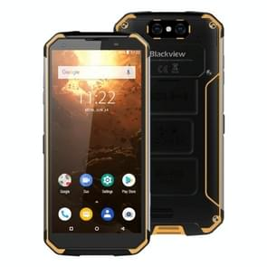 Blackview BV9500 Plus, 4GB+64GB, IP68/IP69K Waterproof Dustproof Shockproof, Dual Back Cameras, 10000mAh Battery, Face ID & Fingerprint Identification, 5.7 inch Android 9.0 MTK Helio P70 Octa Core up to 2.1GHz, NFC, Wireless Charge, Network: 4G(Yellow)