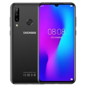 DOOGEE N20, 4GB+64GB, Triple Back Cameras, Fingerprint Identification, 4350mAh Battery, 6.3 inch Waterdrop Notch Screen Android 9.0 Pie MTK6763V Octa Core up to 2.0GHz, Network: 4G, Dual SIM(Black)
