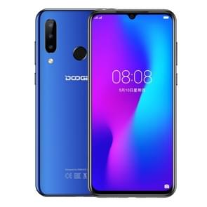 DOOGEE N20, 4GB+64GB, Triple Back Cameras, Fingerprint Identification, 4350mAh Battery, 6.3 inch Waterdrop Notch Screen Android 9.0 Pie MTK6763V Octa Core up to 2.0GHz, Network: 4G, Dual SIM(Sapphire Blue)