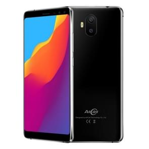 AllCall S1, 2GB+16GB, Dual Back Cameras + Dual Front Cameras, 5000mAh Battery, 5.5 inch Android 8.1 MTK6580A Quad Core, Network: 3G, OTG, Dual SIM(Black)