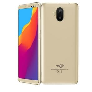 AllCall S1, 2GB+16GB, Dual Back Cameras + Dual Front Cameras, 5000mAh Battery, 5.5 inch Android 8.1 MTK6580A Quad Core, Network: 3G, OTG, Dual SIM(Gold)