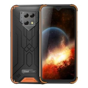 Blackview BV9800 Rugged Phone, 6GB+128GB, Waterproof Dustproof Shockproof, Triple Cameras, Face & Fingerprint Identification, 6.3 inch Android 9.0 Pie Helio P70 Octa Core up to 2.1GHz, NFC, Wireless Charge, Network: 4G(Orange)
