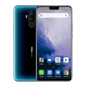 Ulefone T2, Global Dual 4G, 6GB+128GB, Dual Back Cameras, Face ID & Fingerprint Identification, 4200mAh Battery, 6.7 inch Android 9.0 MTK6771T Helio P70 Octa Core 64-bit up to 2.1GHz, Network: 4G, OTG, NFC, Dual SIM, Wireless Charging(Blue)