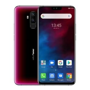 Ulefone T2, Global Dual 4G, 6GB+128GB, Dual Back Cameras, Face ID & Fingerprint Identification, 4200mAh Battery, 6.7 inch Android 9.0 MTK6771T Helio P70 Octa Core 64-bit up to 2.1GHz, Network: 4G, OTG, NFC, Dual SIM, Wireless Charging(Red)