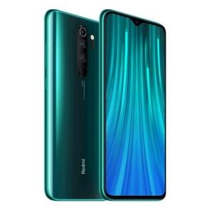 Xiaomi Redmi Note 8 Pro, 64MP Camera, 6GB+64GB, Quad AI Back Cameras, 4500mAh Battery, Face ID & Fingerprint Identification, 6.53 inch Waterdrop Notch Screen MIUI 10 MTK Helio G90T Octa Core up to 2.05GHz, Network: 4G, Dual SIM, NFC(Emerald)