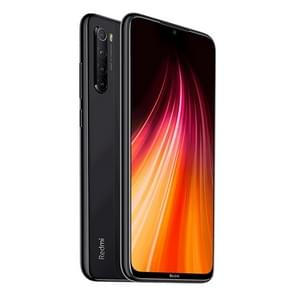 Xiaomi Redmi Note 8, 48MP Camera, 6GB+64GB, Quad AI Back Cameras, 4000mAh Battery, Face ID & Fingerprint Identification, 6.3 inch Waterdrop Notch Screen MIUI 10 Qualcomm Snapdragon 665 Octa Core up to 2.0GHz, Network: 4G, Dual SIM(Obsidian Black)