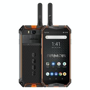Ulefone Armor 3WT, Walkie Talkie Function, Dual 4G, 6GB+64GB, IP68/IP69K Waterproof Dustproof Shockproof, Face ID & Fingerprint Identification, 10300mAh Battery, 5.7 inch Android 9.0 MKT Helio P70 Octa-core 64-bit up to 2.1GHz, Network: 4G, NFC, OTG(Orang