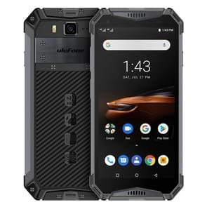 Ulefone Armor 3W Rugged Phone, Dual 4G, 6GB+64GB, IP68/IP69K Waterproof Dustproof Shockproof, Face ID & Fingerprint Identification, 10300mAh Battery, 5.7 inch  Android 9.0 MKT Helio P70 Octa-core 64-bit up to 2.1GHz, Network: 4G, Dual VoLTE, NFC, OTG (Bla