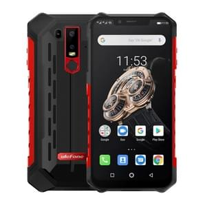 Ulefone Armor 6S Rugged Phone, Dual 4G & VoLTE, 6GB+128GB, IP68/IP69K Waterproof Dustproof Shockproof, Face ID & Fingerprint Identification, 5000mAh Battery, 6.2 inch Android 9.0 Helio P70 Octa-core 64-bit up to 2.1GHz, Network: 4G,  OTG, NFC, Wireless Ch