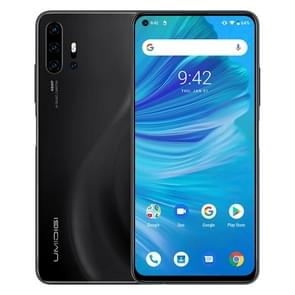 UMIDIGI F2, 6GB+128GB, 48MP AI Quad Cameras, 5150mAh Battery, Face ID & Fingerprint Identification, 6.53 inch FullView Screen Android 10 MTK Helio P70 Octa Core up to 2.1GHz, Network: 4G, OTG, NFC, Dual SIM, FM(Black)
