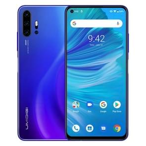 UMIDIGI F2, 6GB+128GB, 48MP AI Quad Cameras, 5150mAh Battery, Face ID & Fingerprint Identification, 6.53 inch FullView Screen Android 10 MTK Helio P70 Octa Core up to 2.1GHz, Network: 4G, OTG, NFC, Dual SIM, FM(Blue)