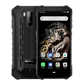 Ulefone Armor X5 Rugged Phone, 3GB+32GB, IP68/IP69K Waterproof Dustproof Shockproof, Dual Back Cameras, Face Identification, 5000mAh Battery, 5.5 inch Android 9.0 MTK6763 Octa Core 64-bit up to 2.0GHz, OTG, NFC, Network: 4G(Black)