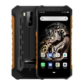 Ulefone Armor X5 Rugged Phone, 3GB+32GB, IP68/IP69K Waterproof Dustproof Shockproof, Dual Back Cameras, Face Identification, 5000mAh Battery, 5.5 inch Android 9.0 MTK6763 Octa Core 64-bit up to 2.0GHz, OTG, NFC, Network: 4G(Orange)