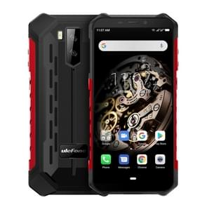Ulefone Armor X5 Rugged Phone, 3GB+32GB, IP68/IP69K Waterproof Dustproof Shockproof, Dual Back Cameras, Face Identification, 5000mAh Battery, 5.5 inch Android 9.0 MTK6763 Octa Core 64-bit up to 2.0GHz, OTG, NFC, Network: 4G(Red)