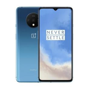 OnePlus 7T, 48MP Camera, 8GB+128GB, Triple Back Cameras, Face Unlock & Screen Fingerprint Identification, 6.55 inch 2.5D Hydrogen OS (Android 10) Qualcomm Snapdragon 855 Plus Octa Core up to 2.96GHz, NFC, Network: 4G(Blue)