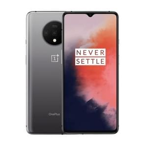OnePlus 7T, 48MP Camera, 8GB+256GB, Triple Back Cameras, Face Unlock & Screen Fingerprint Identification, 6.55 inch 2.5D Hydrogen OS (Android 10) Qualcomm Snapdragon 855 Plus Octa Core up to 2.96GHz, NFC, Network: 4G(Silver)
