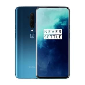 OnePlus 7T Pro, 48MP Camera, 8GB+256GB, Triple Back Cameras, Face Unlock & Screen Fingerprint Identification, 6.67 inch 3D Hydrogen OS (Android 10) Qualcomm Snapdragon 855 Plus Octa Core up to 2.96GHz, NFC, Network: 4G(Blue)