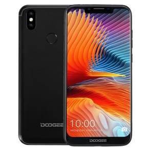 DOOGEE BL5500 Lite, 2GB+16GB, Dual Back Cameras, DTouch Fingerprint, 5500mAh Battery, 6.19 inch U-notch Android 8.1 MTK6739WA Quad Core up to 1.3GHz, Network: 4G,  OTA, Dual SIM(Black)