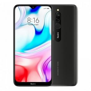 Xiaomi Redmi 8, 3GB+32GB,  Global Official Version, Dual Back Cameras, Face ID & Fingerprint Identification, 5000mAh Battery, 6.22 inch Dot Notch Screen MIUI 10.0 Qualcomm Snapdragon 439 Octa-core up to 1.95GHz, Network: 4G (Black)