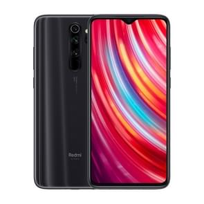 Xiaomi Redmi Note 8 Pro, 64MP Camera, 6GB+128GB, Global Official Version, Quad AI Back Cameras, 4500mAh Battery, Face ID & Fingerprint Identification, 6.53 inch Dot Drop Screen MIUI 10 MTK Helio G90T Octa Core up to 2.05GHz, Network: 4G, Dual SIM(Black)