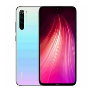 Xiaomi Redmi Note 8, 48MP Camera, 4GB+64GB, Global Official Version, Quad AI Back Cameras, 4000mAh Battery, Face ID & Fingerprint Identification, 6.3 inch Dot Drop Screen MIUI 10 Qualcomm Snapdragon 665 Octa Core up to 2.0GHz, Network: 4G, Dual SIM(White)