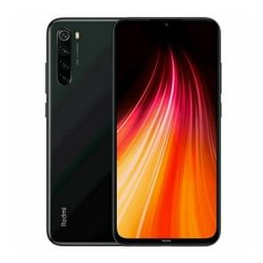 Xiaomi Redmi Note 8, 48MP Camera, 4GB+128GB, Global Official Version, Quad AI Back Cameras, 4000mAh Battery, Face ID & Fingerprint Identification, 6.3 inch Dot Drop Screen MIUI 10 Qualcomm Snapdragon 665 Octa Core up to 2.0GHz, Network: 4G, Dual SIM(Black