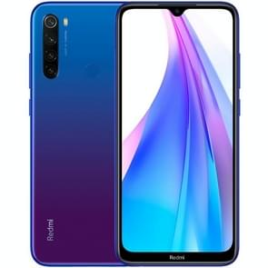 Xiaomi Redmi Note 8T, 48MP Camera, 4GB+64GB, Global Official Version, Quad AI Back Cameras, 4000mAh Battery, Face ID & Fingerprint Identification, 6.3 inch Dot Drop Screen MIUI 10 Qualcomm Snapdragon 665 Octa Core up to 2.0GHz, Network: 4G, Dual SIM(Blue)